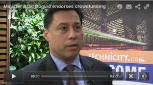 brad duguid endorses crowdfunding