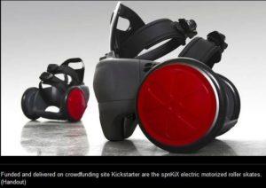 motorized rollerskates