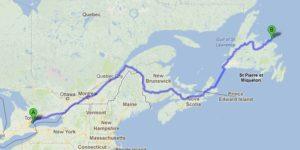 Carl Wagon Bookmobile Toronto to Newfoundland