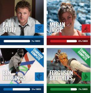 crowdfunding Canadan athletes