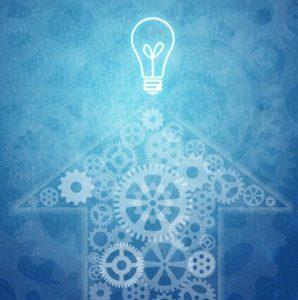 Innovation and lightbulb