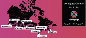 CanadaBlogpost Indiegogo