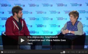 techcrunch pebble watch interview
