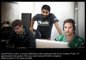 Jayesh Parmar and Picatic